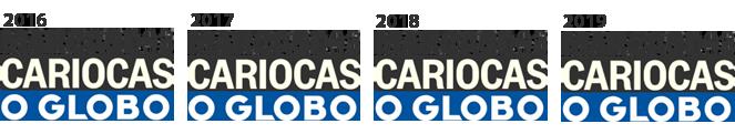 Marca dos Cariocas 2016, 2017, 2018 e 2019